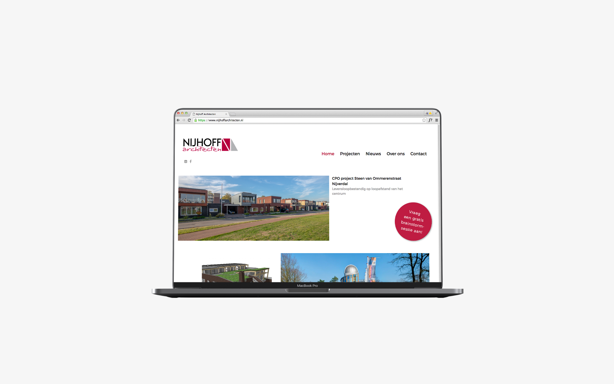 Website Nijhoff Architecten
